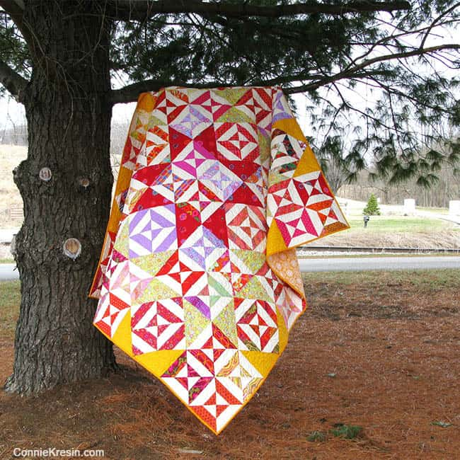 SpellBound Quilt in a Tree