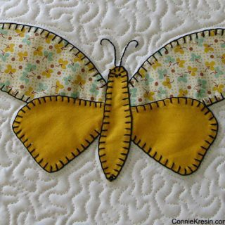 Vintage Butterflies and adding to my Stash