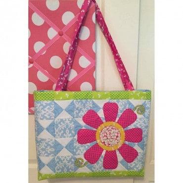 Free pattern Daisys Tote
