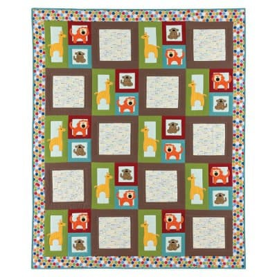 Zoo Quilt Pattern
