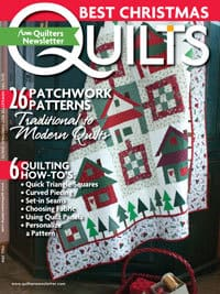Magazines my quilt patterns have been published in