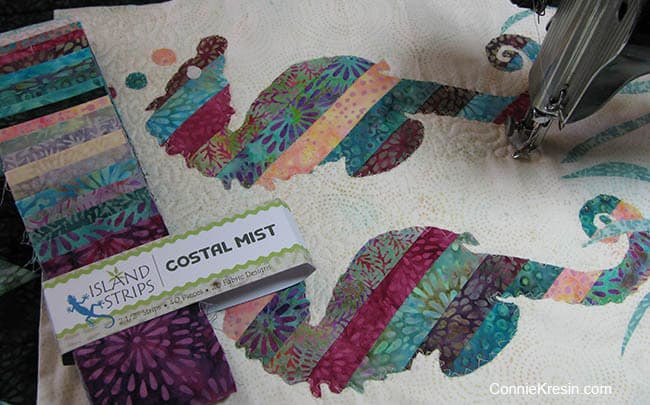 Coastal Mist Applique Project
