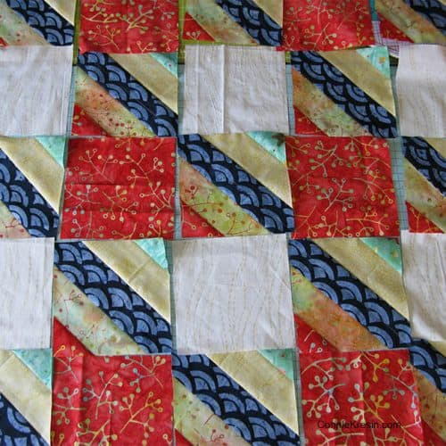 Jelly Roll Check free pattern