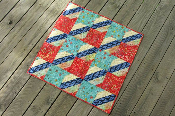 Free quilt tutorial Jelly Roll Check