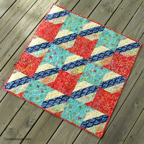 Jelly Roll Check quilt free pattern