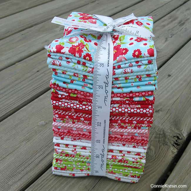 Little Ruby by Bonnie and Camille fat quarter bundle