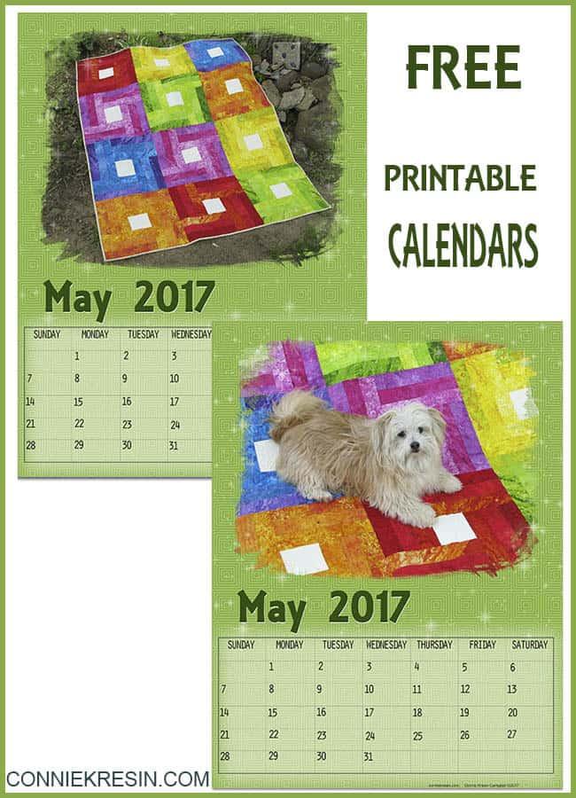 May Free Printable Calendars
