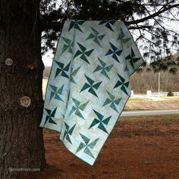 Twirling Windmills quilt tutorial