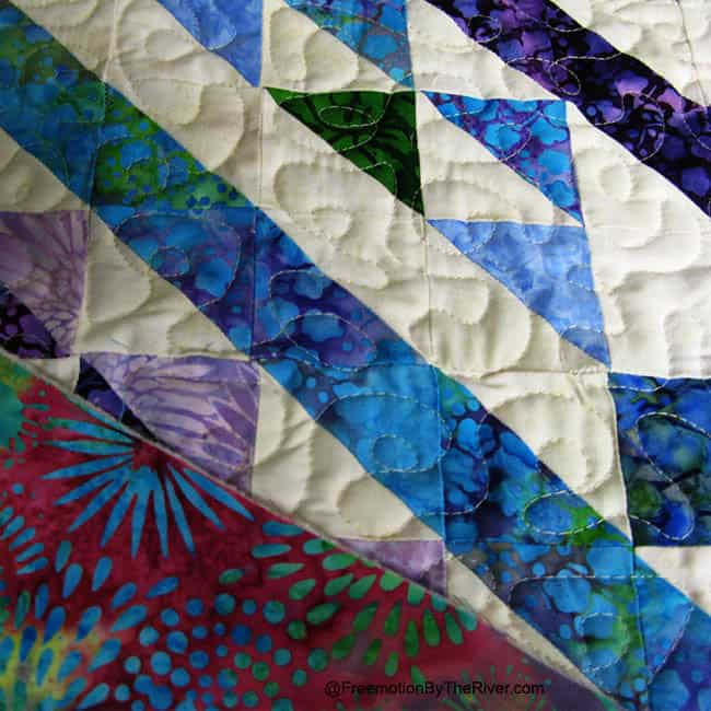 Affinity quilt Pattern made with Island Batik fabrics pattern available - ConnieKresin.com