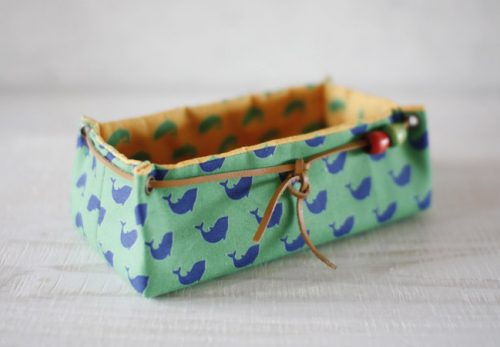 Hand madiya fabric basket tutorial