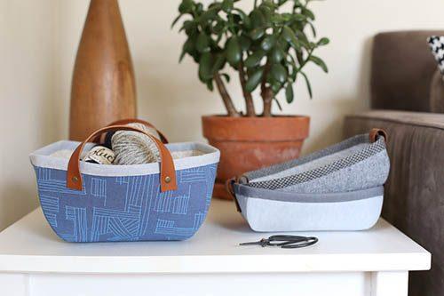 Robert-Kaufman-tray and basket tutorial