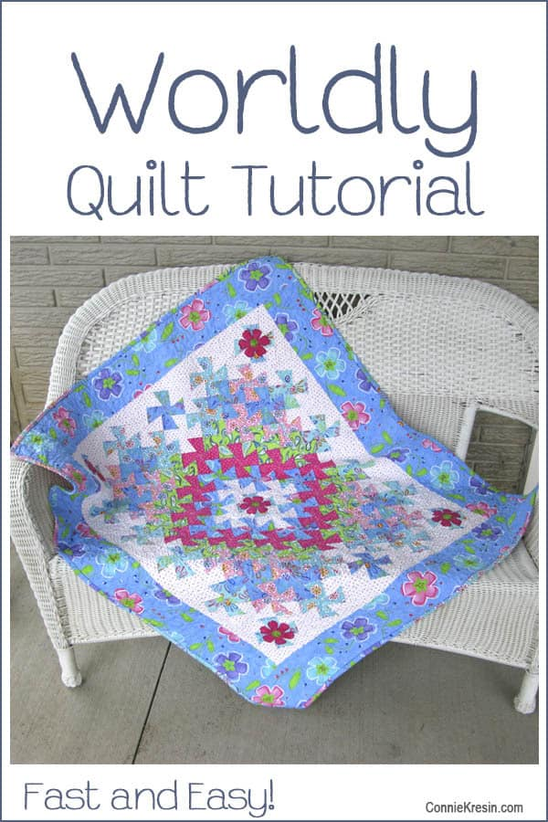 Twister Baby Quilt Tutorial