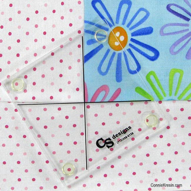 Twister Baby Quilt Tutorial template