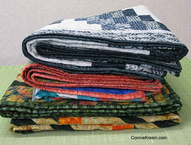 3 quilts Island Batik Fall Market