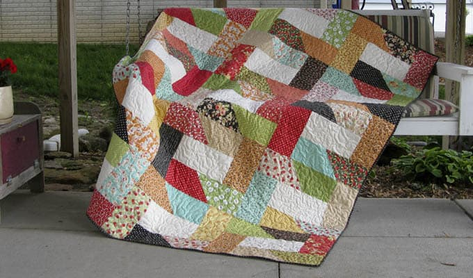 Dovetail Free Quilt Pattern Freemotion By The River