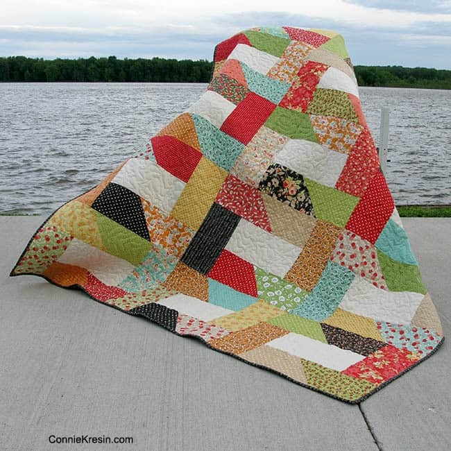 Dovetail Quilt by river