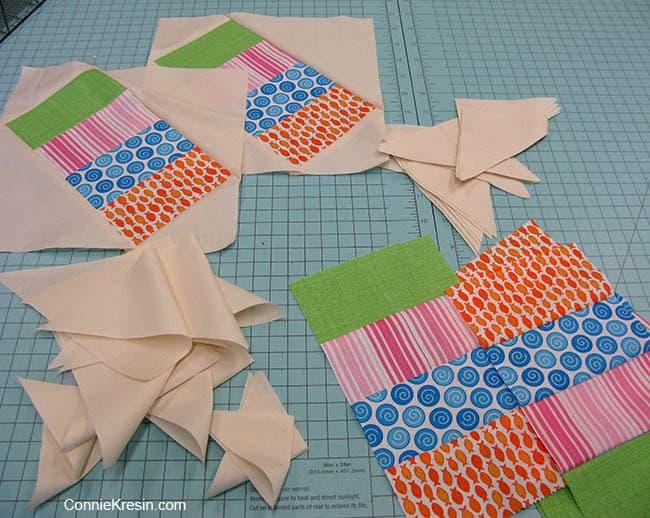 Jelly Roll Railway Free Quilt Pattern Blocks