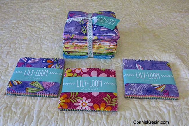 Lily Loom fabrics