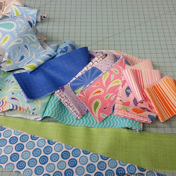 Rainy Day Jelly Roll opened up for Jelly Roll Railway Quilt