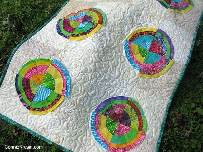 Bullseye quilt