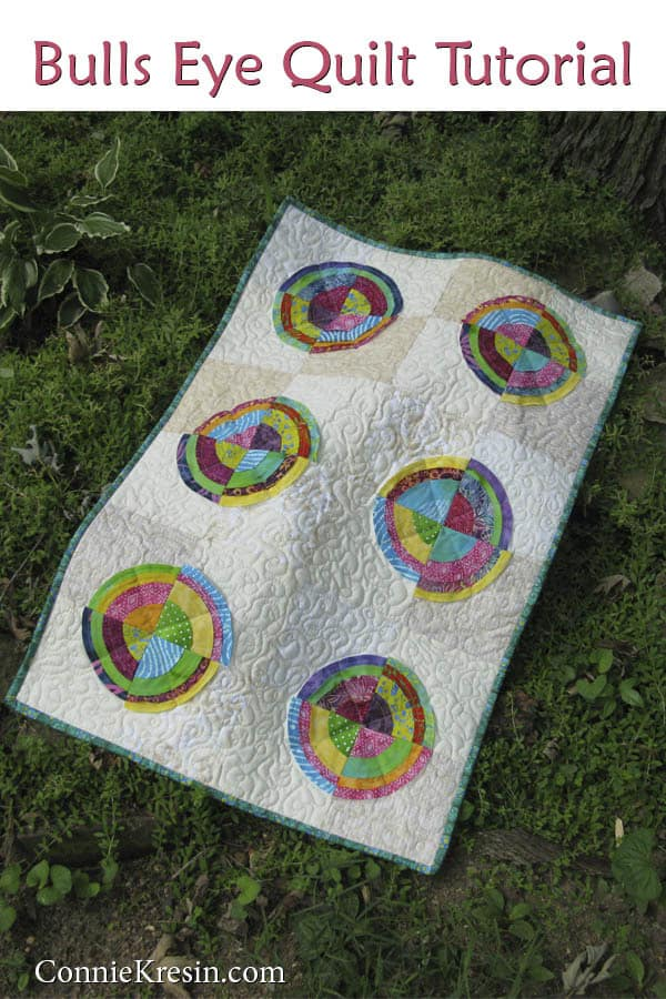 Bulls Eye Quilt tutorial