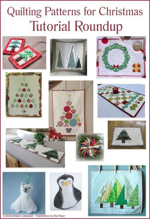 Roundup Christmas free quilt patterns