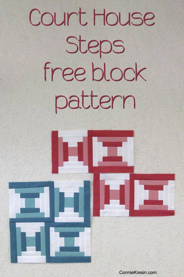 CourtHouse Steps free block pin