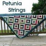 Petunia String Free Quilt Pattern