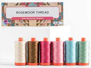 Aurifil Thread Rosemoor