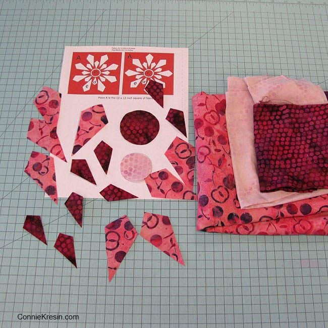 I Wish You a Merry Quilt-A-Long Dotalicious Island Batik fabrics
