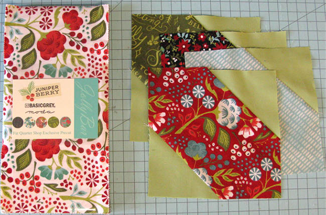 Jolly Bar Jazz free quilt tutorial piecing block