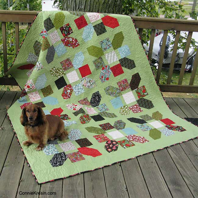 Jolly Bar Jazz quilt