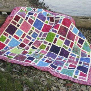 Scattered Cherry Berry Quilt