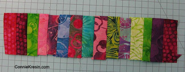 Island Batik Cherry Berry collection Borders Scraps