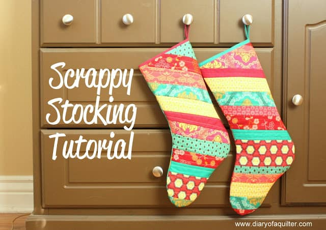 25 free Christmas Quilt Patterns and tutorials Christmas Stockings
