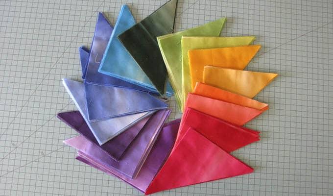 Color Block Quilt Blocks