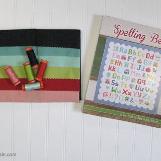 Spelling Bee Sew Along
