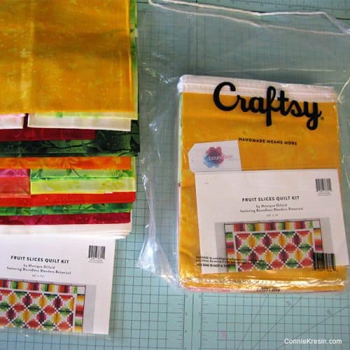 Fruit Slices quilt kit