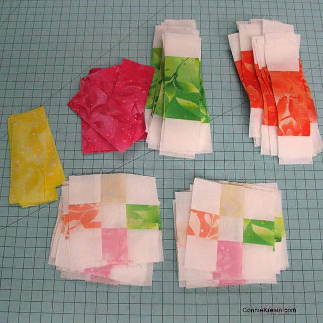 Fruit Slices Quilt centers