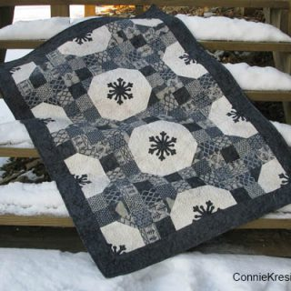 Alpine Snowflakes Tutorial