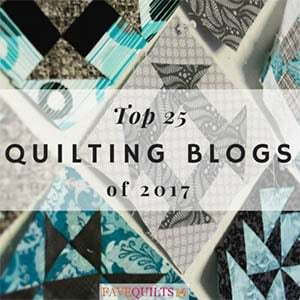Top 25 Quilting Blogs 2017