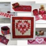 10 Free Valentine Quilt Tutorials