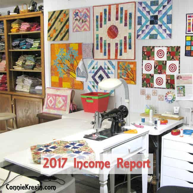 2017 Blogging Income Report for ConnieKresin.com #IncomeReport #Blogging