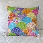 Applique clamshell pillow tutorial
