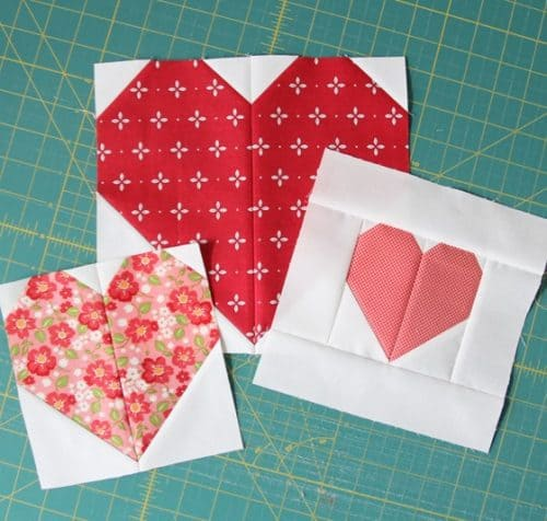 CluckCluckSew-Heart Blocks in Multiple Sizes