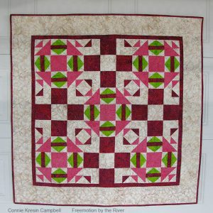 Fractured Quilt Pattern fast and easy to make #quilt #batiks #pattern #quilting