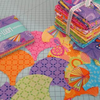 Charm Squares and Clamshell die