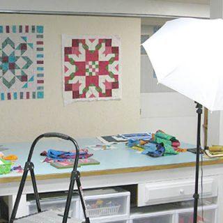 Quilt Studio Lighting