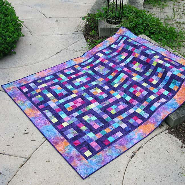 Hopscotch Quilt Pattern Freemotion By The River