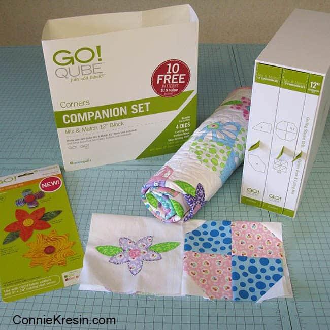 AccuQuilt Corner Companion Set baby quilt